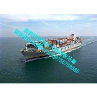 迪拜整柜散货化工品门到门国际海运