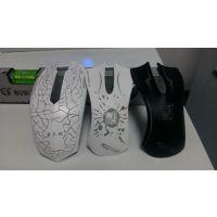 沙田塑料鼠标透光图案激光镭雕机
