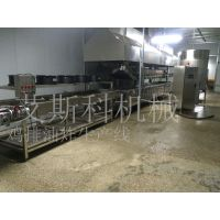 江苏燃气燃煤导热油电加热全自动半自动肉食品油炸机生产厂家报价