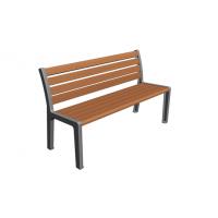 供应进口菠萝格实木公园座椅 型号NZ-Z15