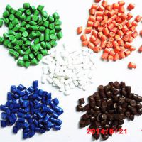 供应网线PE芯线护套色母粒 白 蓝 绿 橙 棕 黑标准色母 现货供应