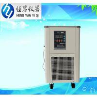供应 恒岩仪器 工业冷水机 小型冷阱 DLSB-5L/20 水循环制冷机 现货销售