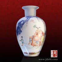 年会礼品花瓶定制找唐龙陶瓷