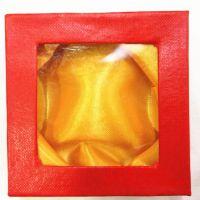 德缘工艺 手链展览盒子 佛珠展示盒 装饰盒 正方形11cm 热销