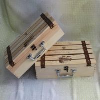 供应曹县红酒盒 红酒包装盒 双支镂空木盒 酒水饮料包装 礼品盒 首饰盒 珠宝盒木质产品