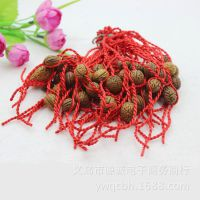 中国风桃核红绳手链 辟邪手链 红绳手链 2元饰品批发 义乌小商品