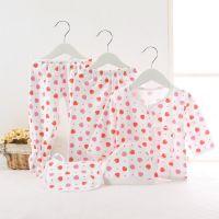 新生儿五件套纯棉婴儿内衣套装儿童秋衣秋裤宝宝五件套装特价