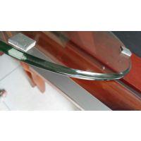金都玻璃专业生产加工鸭嘴边酒店圆桌钢化玻璃