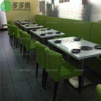 火锅店火锅桌椅一套多少钱 大理石火锅桌多少钱