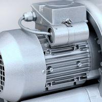 高压鼓风机0.37kw 纺织机械用高压风泵 吹吸两用风机 旋涡气泵 漩涡风机