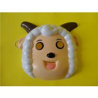 供应喜羊羊与灰太狼面具 喜羊羊面具 懒羊羊面具 沸羊羊面具 卡通动漫面具