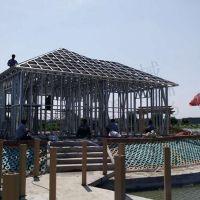 建设无比钢结构建筑 环保轻钢住宅制造安装 可移动轻钢活动房