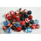 Solid Handmade Glass Balls christmas ornament 100MM For Home Decoration