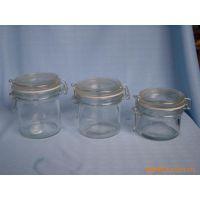 生产加工圆卡口玻璃罐(4种规格,普通卡)