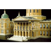 品筑模型俄罗斯圣彼得堡酒店1:150高品质专业沙盘建筑房地产模型制作