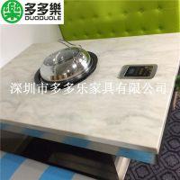 深圳蒸汽火锅桌椅 地中海风格 多多乐家具定制