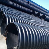 厂家直销 欣腾达hdpe钢带波纹管DN400 pe钢带管 低价多销