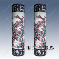 供应景德镇陶瓷花瓶厂 定做青花陶瓷花瓶