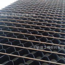 山东腾疆厂家直销土工格室耐酸碱HDPE三维网状格室铁路公路用