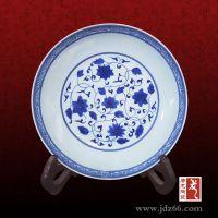 青花瓷盘价格 陶瓷大菜盘定做 唐龙陶瓷厂家