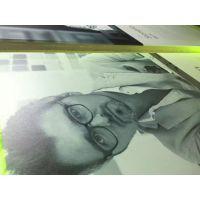深圳沙井钢化玻璃膜喷画 亚克力彩印加工 uv平板喷绘图案加工厂家