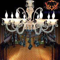 欧式现代奢华水晶吊灯 客厅卧室酒店别墅灯具 百搭风格灯饰