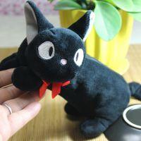 宫崎骏动漫周边 魔女宅急便黑猫毛绒公仔 吉吉猫笔袋 日本卡通