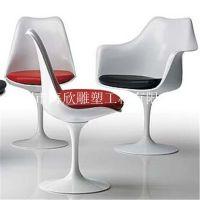 郁金香椅 玻璃钢转椅 酒杯休闲椅 酒吧餐椅 电脑餐厅家具搭配桌椅