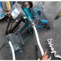 新型食品膨化机 自动切断弯管膨化机 鼎达致富小项目