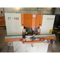 ZF-455 高速精密双头45°切角机 超薄灯箱专用45度切割机 铝材切割机