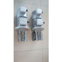 苏州包装设备用变频涡轮减速电机NMRV063/15-YVP8024-0.75KW