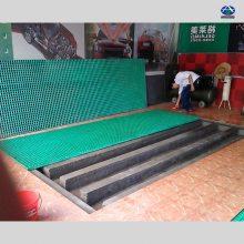 云南个旧工地用的1.22x3.66的玻璃钢格栅含税含运费多钱一平 河北华强