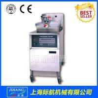 电热炸鸡炉 PFE-600际航电脑面板 带油泵有CE