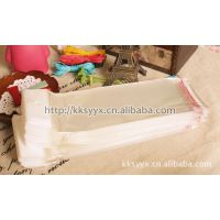 DIY饰品配件批发16*5.5CM包装袋/OPP不干胶自粘袋.塑料袋带卡头