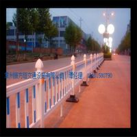 道路护栏围栏隔离带护栏市政护栏马路栅栏锌钢护栏热镀锌护栏交通