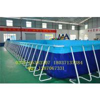 河北移动框架水池价格 水上游艺设备厂家