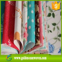 printed spunbond nonwoven printing fabric for bag