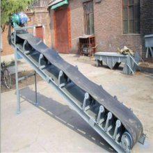 兴亚供应移动式五谷杂粮皮带输送机 煤炭加厚钢丝芯皮带机