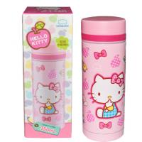 乐扣乐扣Hello Kitty俏皮苹果迷你 马克杯350ml 304不锈钢保温杯 学生水杯