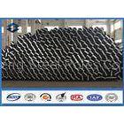 69KV Voltage Height 35FT 10670MM Octagonal Galvanized Steel Pole for Distribution