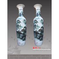 高档大杯高温陶瓷花瓶家居装饰品工艺摆件花瓶客厅落地大花瓶批发