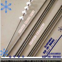 0618多头丝杠 微型大导程高速螺杆现货一根订 来图定做加工端部