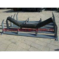 生产厂家供应山东潍坊槽型托辊支架承载托辊支架槽型托辊散支架