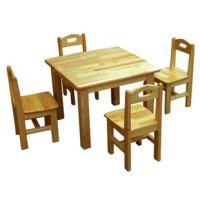 阿坝大林宝宝学生实木课桌椅