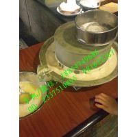 低速研磨石磨豆浆机 原汁原味米浆石磨机 砂岩石质保一年