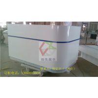 供应北京市木质吧台转弯拐角尺寸自订酒吧吧台移动4G维修台