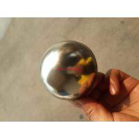 定做古铜拉丝不锈钢球 七彩宝石蓝空心球 KTV门头装饰半球