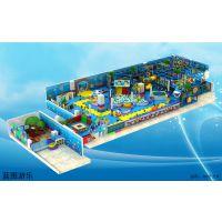 蓝图儿童淘气堡厂家 电动淘气堡 充气城堡 儿童乐园游乐设备 亲子乐园