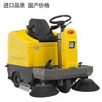 洁尼驾驶式扫地机全自动清扫车工厂学校物业马路地面扫路车电动扫地车