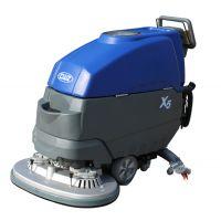 全自动洗地机、工业洗地机 手推自走式洗地机手推式双马达洗地机